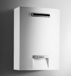 Scaldabagno Vaillant outsideMAG Tipo A Low NOx elettronico